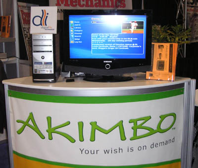 Akimbo on MCE