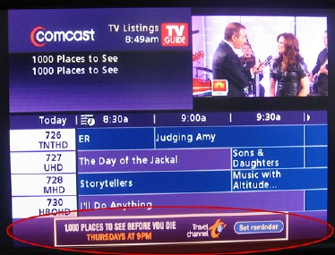 Comcast TV Channels by NAME - Vaughn's Summaries