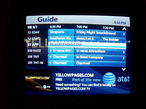 U Verse Adds Yellow Pages
