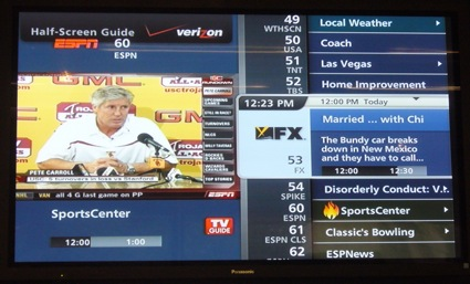 A Verizon FiOS TV Update