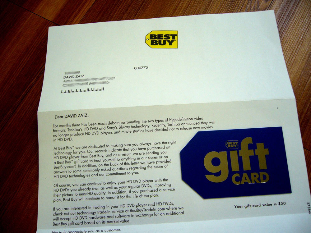 Picture of the Day: Best Buy Delivers | Zatz Not Funny!