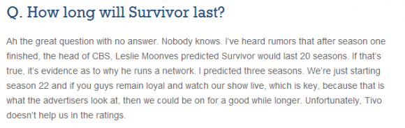 Survivor-TiVo