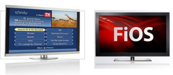 Comcast Xfinity Verizon FiOS