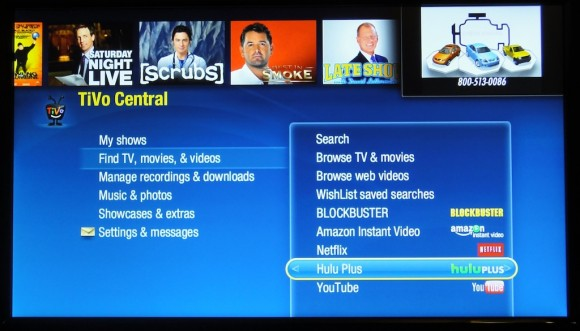 Hulu Plus on TiVo Now Official