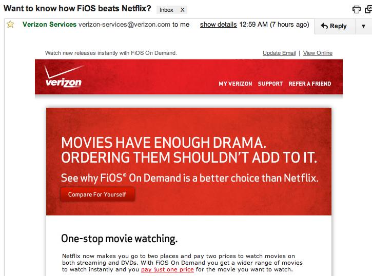 Why Is Verizon Sweating Netflix?