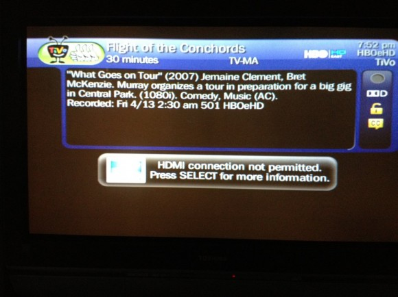 DirecTV Blocks HBO Over HDMI (without HDCP) | Zatz Not Funny!