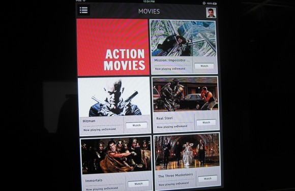 Comcast Xfinity Instant mobile video app 2