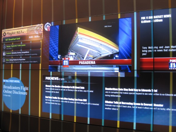 Cisco's NDS Shows Off Interactive 4K Video Wall