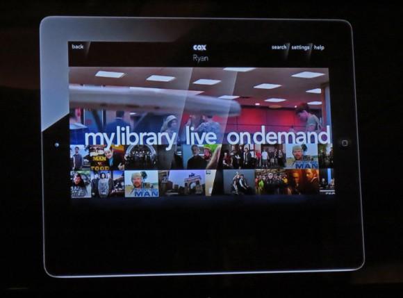 Cox Cisco 2013 iPad app