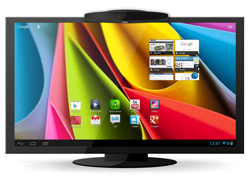 Archos TV Connect with Google Play Store on Android Jelly Bean