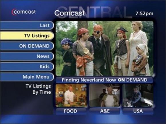 Microsoft TV Foundation guide for Comcast