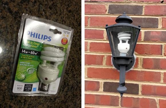 Philips dusk to dawnPhilips Dusk to Dawn CFLs   Zatz Not Funny . Outdoor Dusk To Dawn Light Sensor Control For Cfl Bulbs. Home Design Ideas