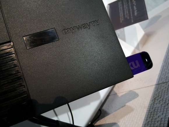 MyWayTV Mates Roku Streaming Stick With Antenna