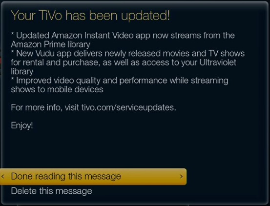 TiVo Winter Update to Feature Amazon, Vudu, and Mobile