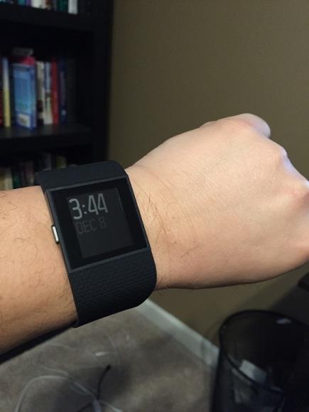 Surge on the wrist