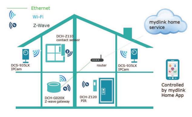 Dlink connected home zatz not funny