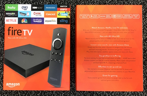 4K Amazon Fire TV Now Available (at Best Buy)
