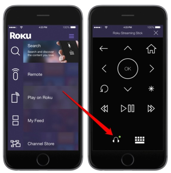 roku-app-private-listening