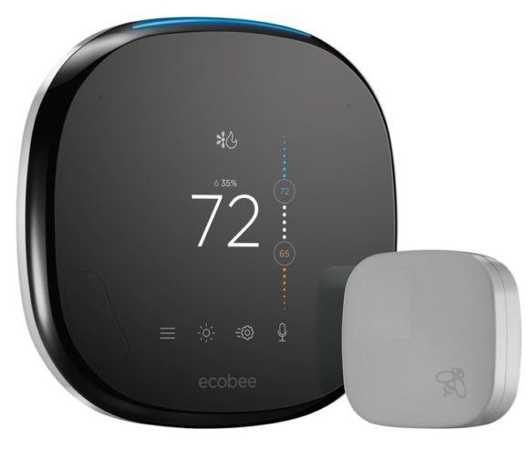 Ecobee4 Smart Thermostat Houses Amazon Alexa