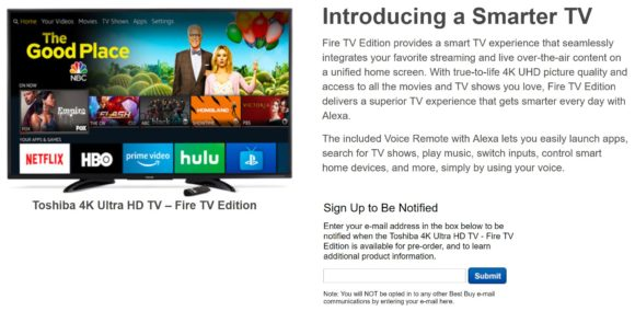 Best Buy Drops Roku In Favor Of Fire TV Insignia Televisions