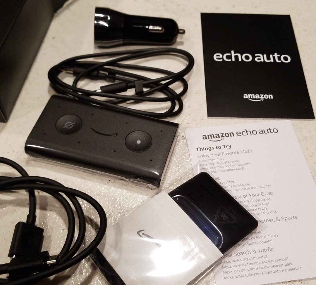 Amazon Echo Auto Now Shipping!