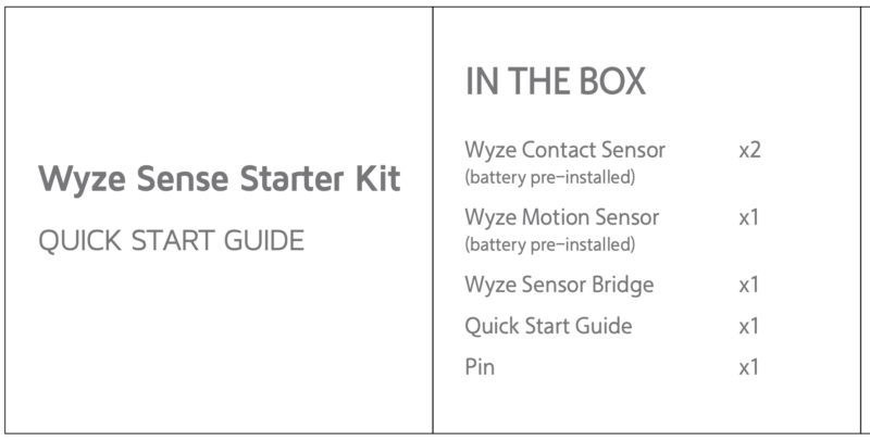 Wyze Moves Beyond The Cam With Motion & Door Sensors
