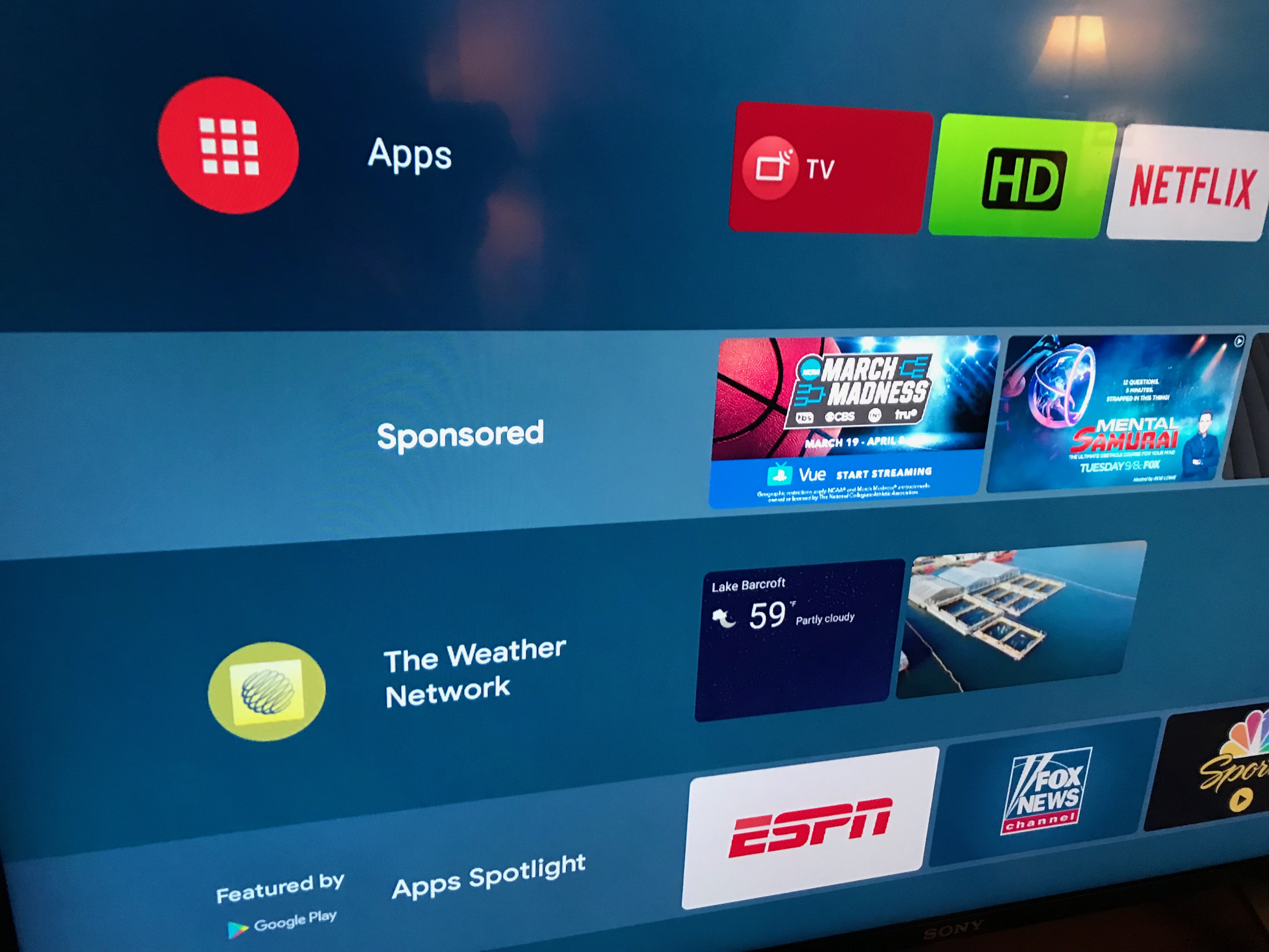 The Android TV Interface Has Been Compromised