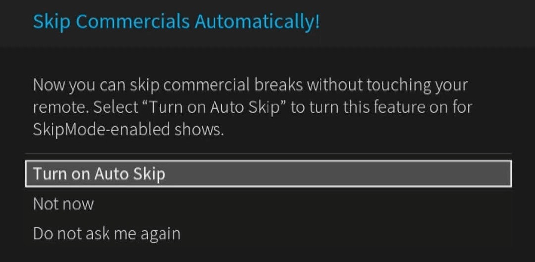 TiVo Commercial Auto Skip Has Arrived