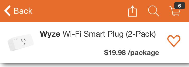 New Wyze Smart Plug 2-Pack Runs $20